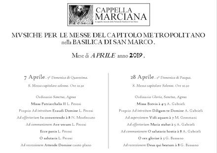 programma aprile 2019