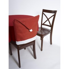 Christmas Chair Covers Pinterest Small Foldable Singapore Buy Santa Hat Fabric Cover Cappel S