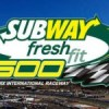 Nascar Subway Fresh Fit 500 Gambling Picks/Preview