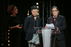 Jean Pierre Leaud, La 22e Ceremonie des Lumieres, Theatre de La Madeleine, Paris, France 30/01/2017.