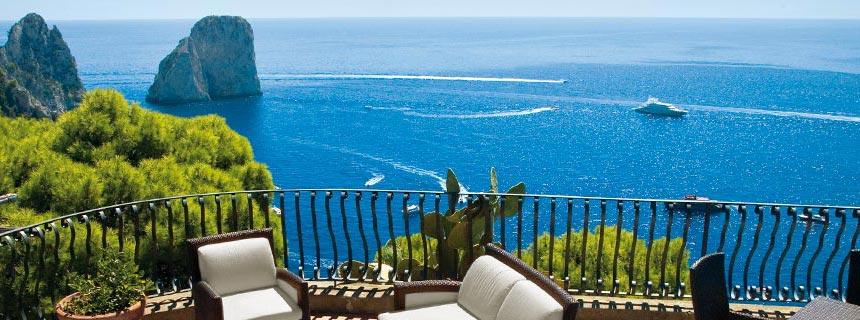 Hotels op Capri