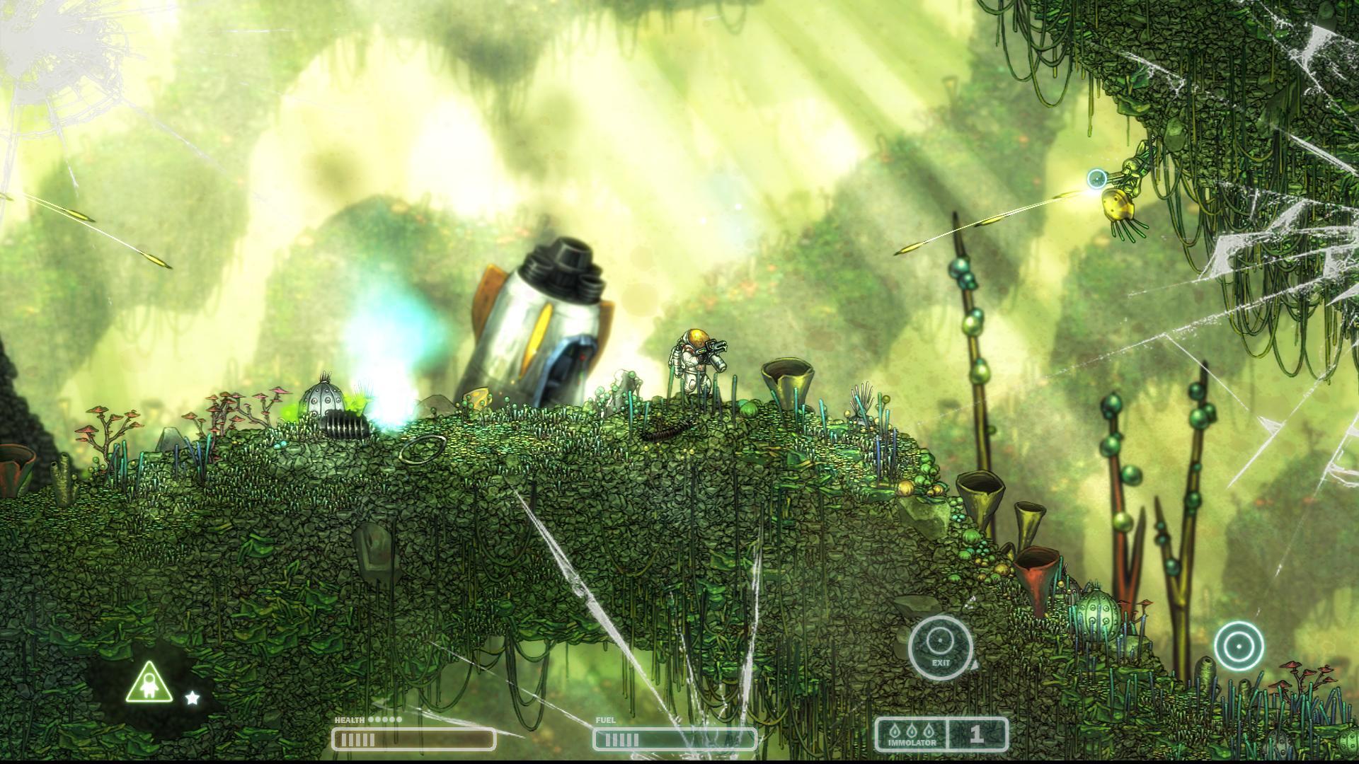 Ninja 3d Wallpaper Capsized 2d Action Platform Game By Alientrap