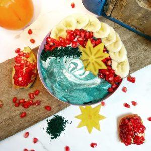Read more about the article Dessert fromage blanc spiruline et fruits de saison