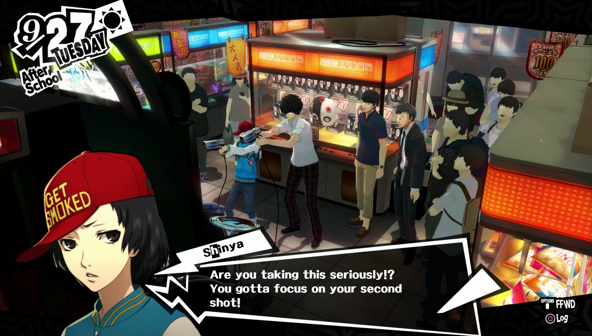 Cute Little Girl Playing Bubble Wallpaper Persona 5 Introduces Another Four Confidants Capsule