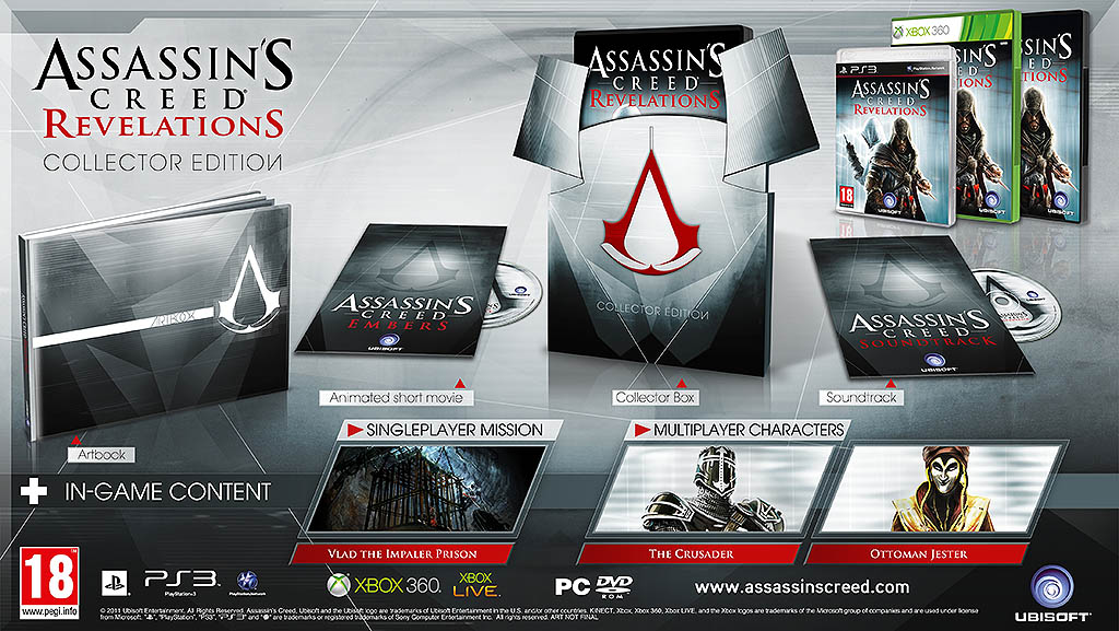 Assassins Creed Revelations Collector Edition Unboxing Capsule Computers