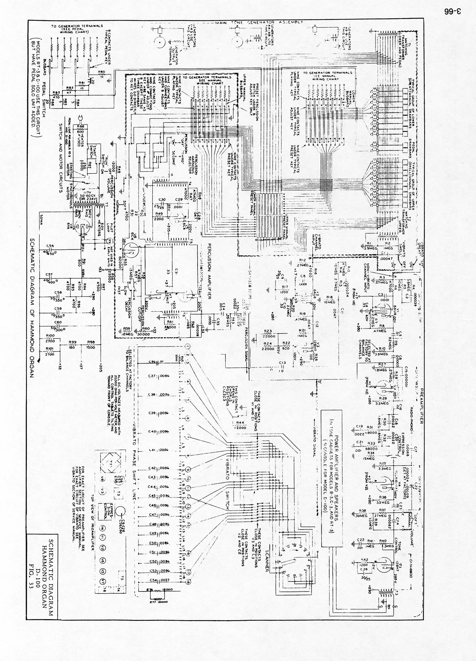 Index Of Hammond Sub Schematics