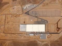 Luftaufnahme Gigafactory Tesla Juli 2016