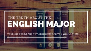 The Truth About the English Major | Captain's Log | www.captainairyca.com
