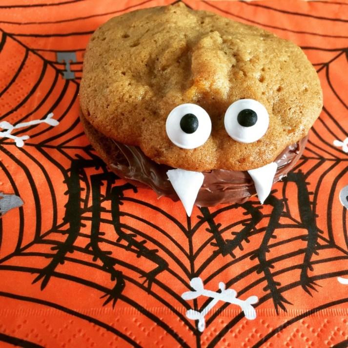 Pumpkin Chock Chip Cookie Monsters
