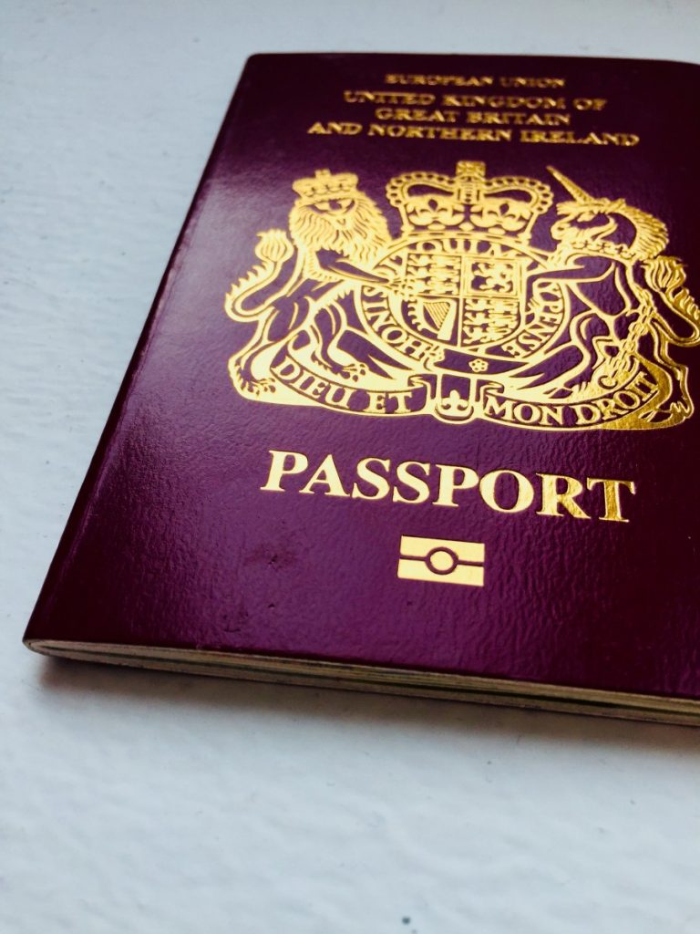 Getting British passport