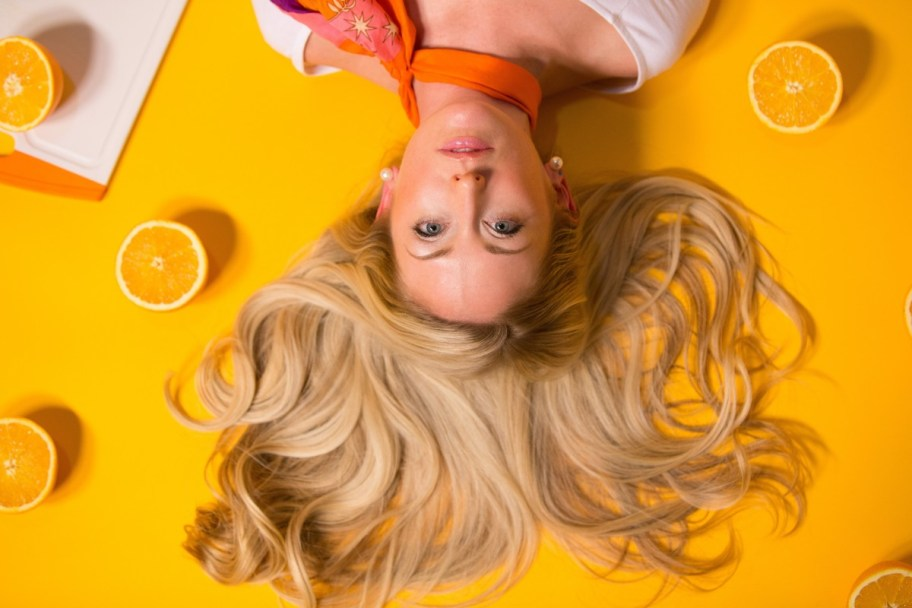 Postpartum hair loss is normal