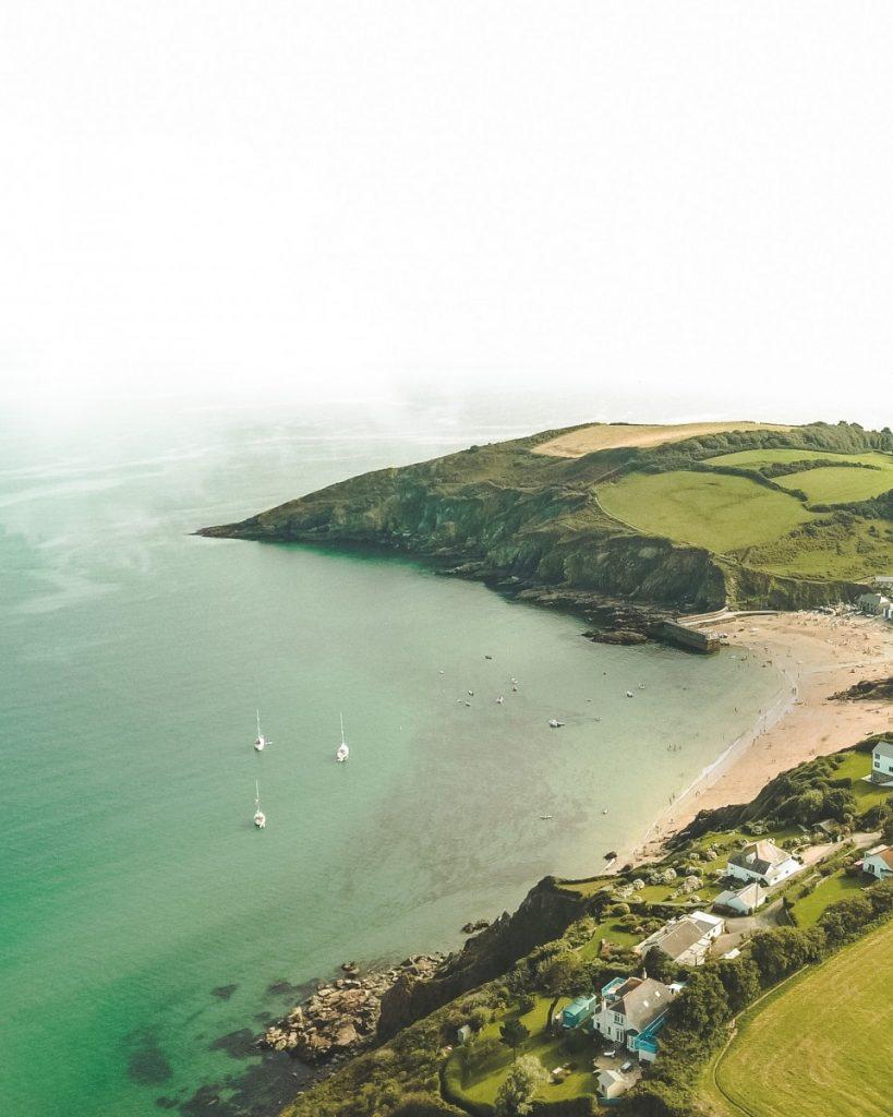 Cornwall beach coast