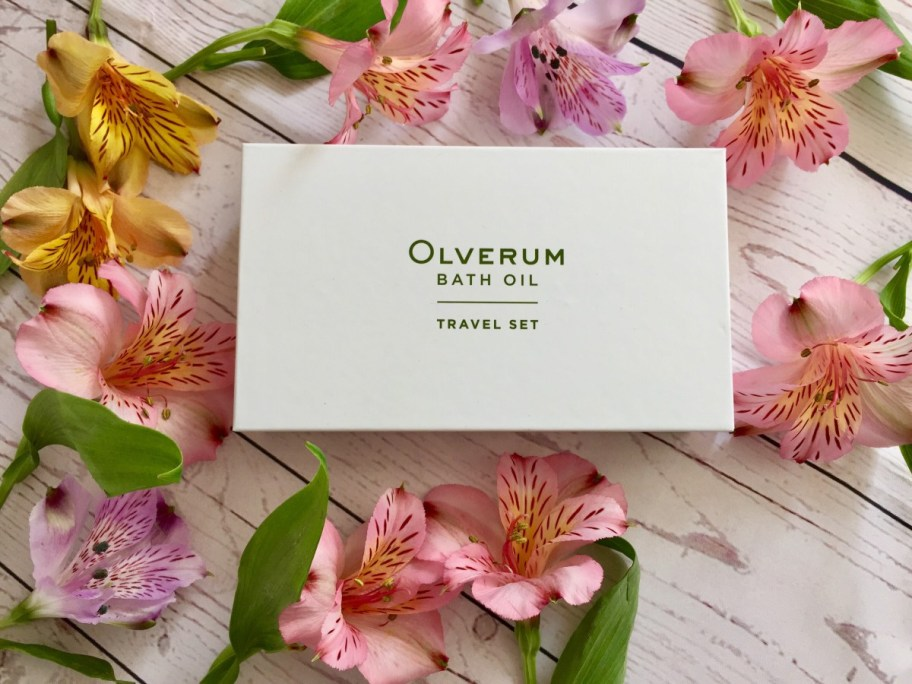 olverum bath oil