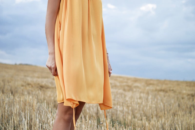 yellow dress summer