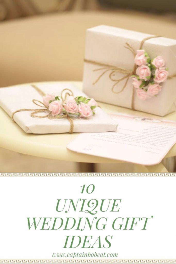 10 unique wedding gift ideas