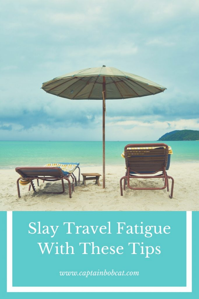 travel fatigue pin