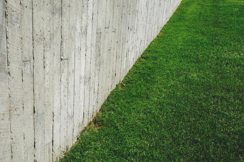 fence lawn