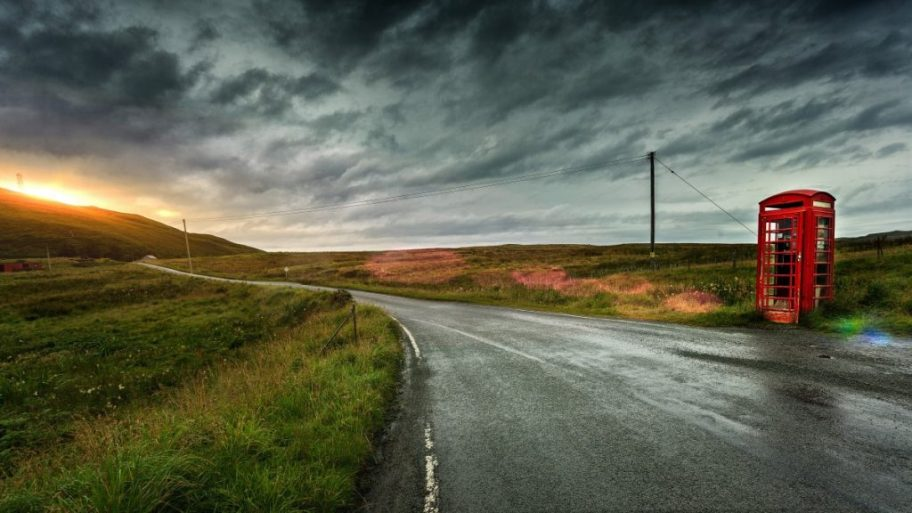 road england rain