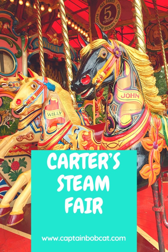 Carter's Vintage Steam Fair - A Fun Day In Pictures
