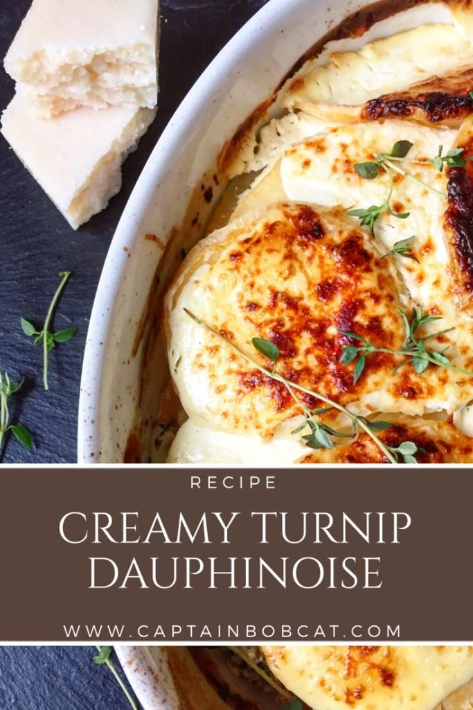 Creamy Turnip Dauphinoise Recipe