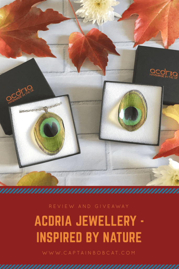 Acdria Handmade, Nature Inspired Jewellery Review and Giveaway