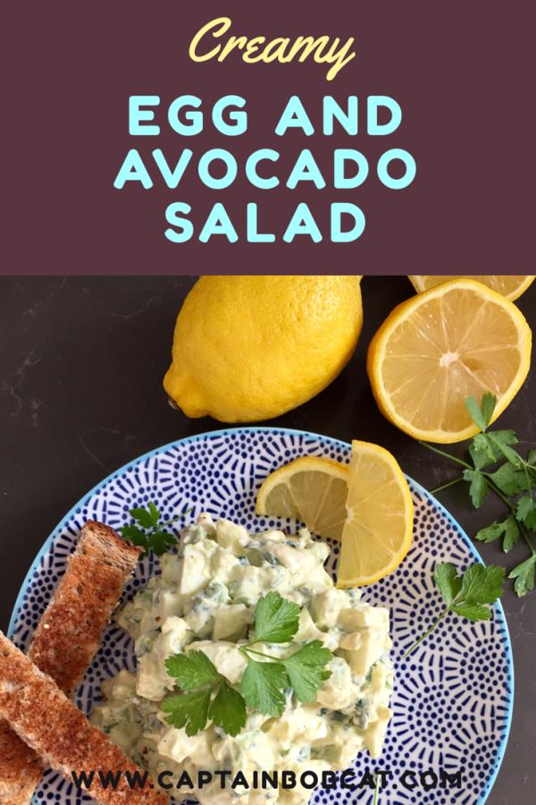 Creamy Egg and Avocado Salad Recipe