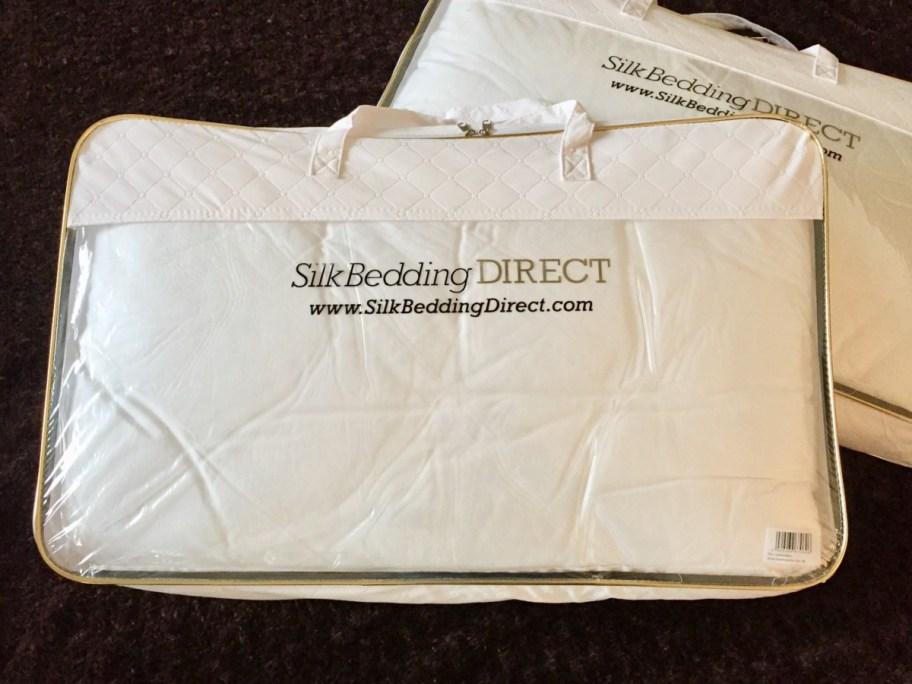 silk bedding direct