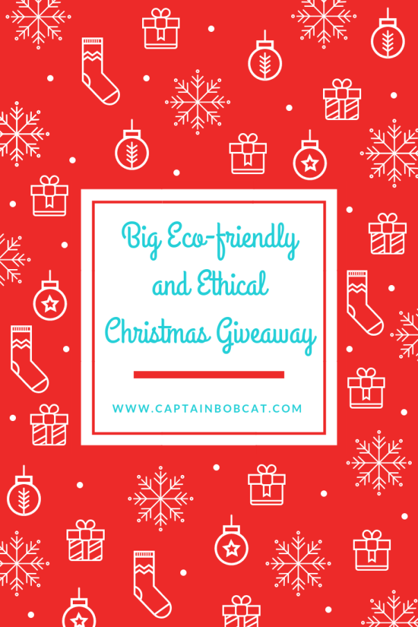 The Big Eco-friendly And Ethical Christmas Giveaway