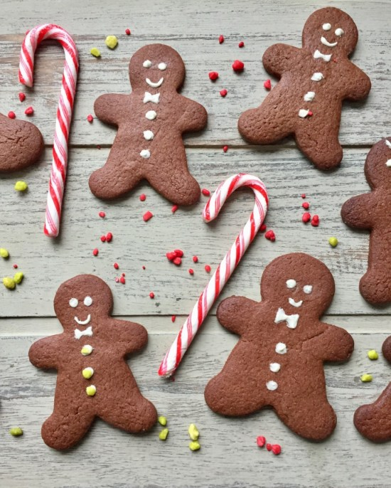 Chocolate Gingerbread Men Recipe