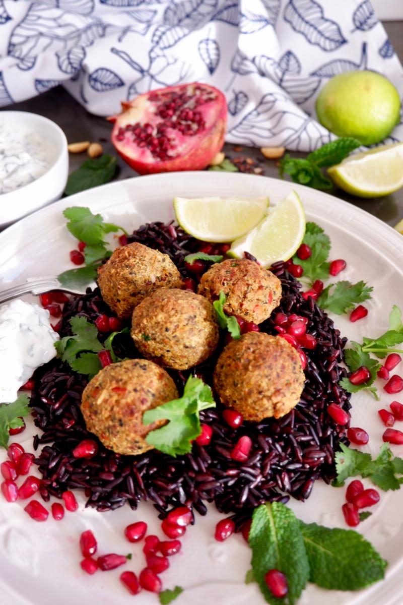 vegan Thai veggie balls