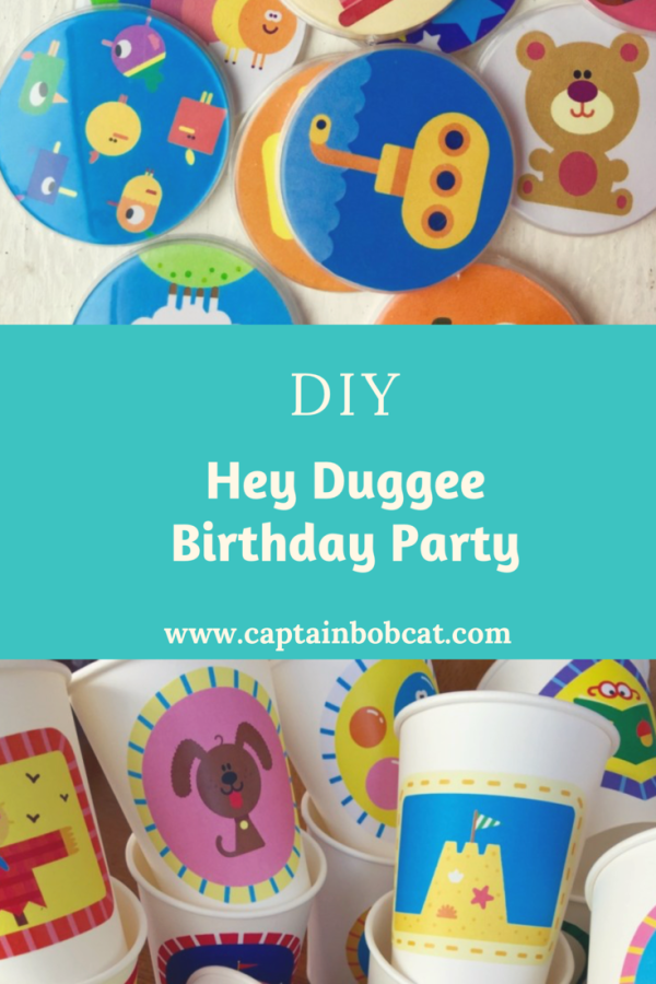 DIY Hey Duggee Theme Birthday Party