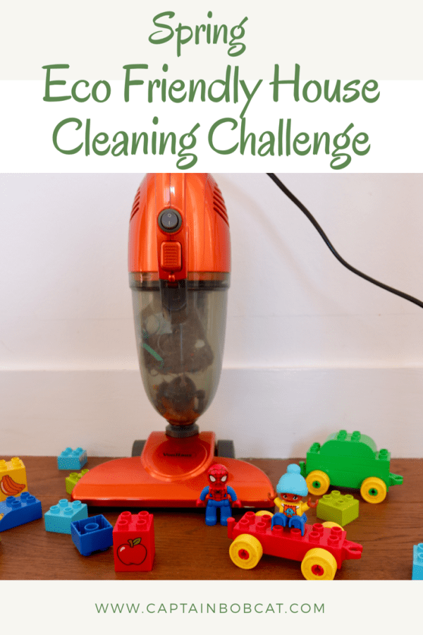Spring Eco Friendly House Cleaning Challenge