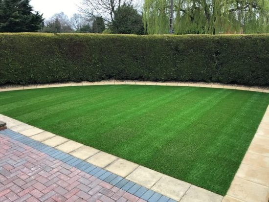 artificial grass post