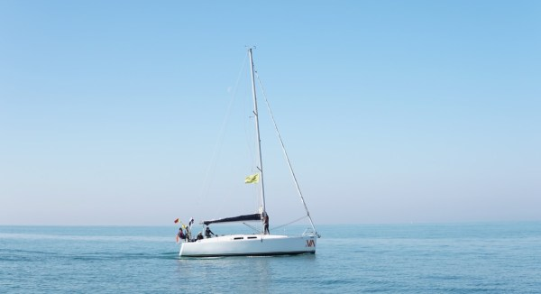 sail boat sea