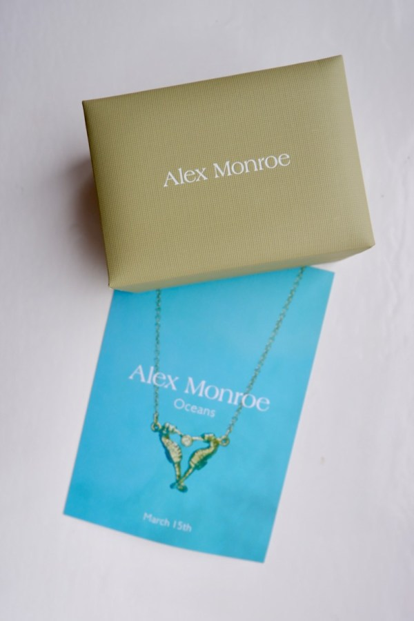 "Alex Monroe ""Oceans"" Collection (In Partnership with Friends of the Earth) - Review"
