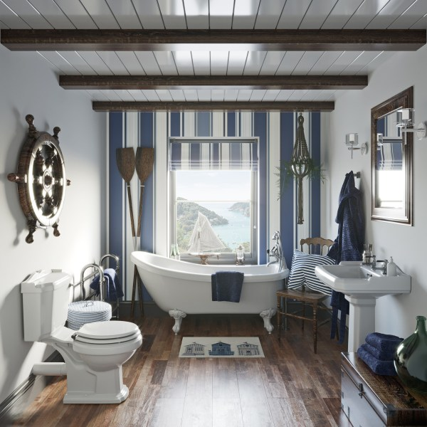 nautical bathroom bath