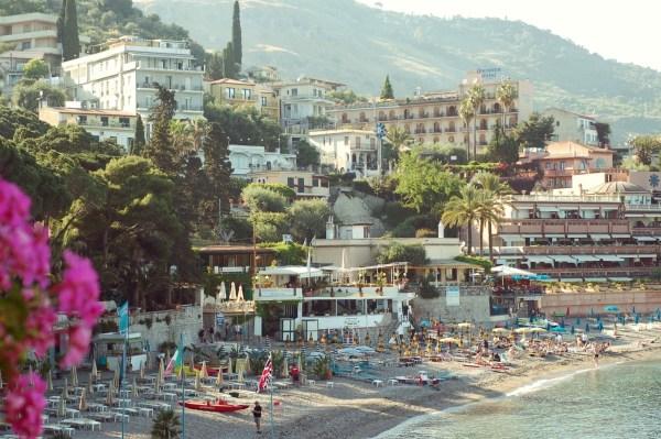 taormina italy mediterranean
