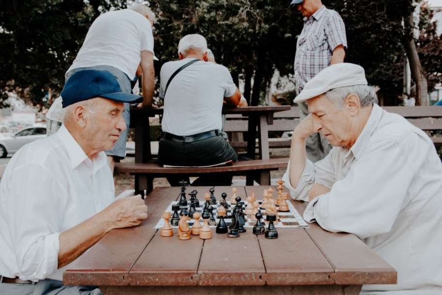 old man chess