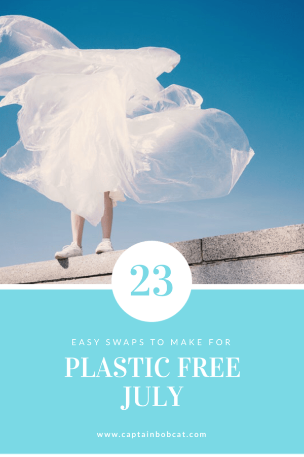 23 Easy Swaps to Make for Plastic Free July 2019