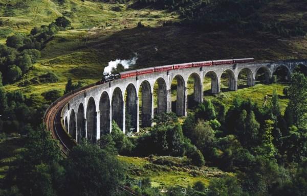 train viaduct in scotland