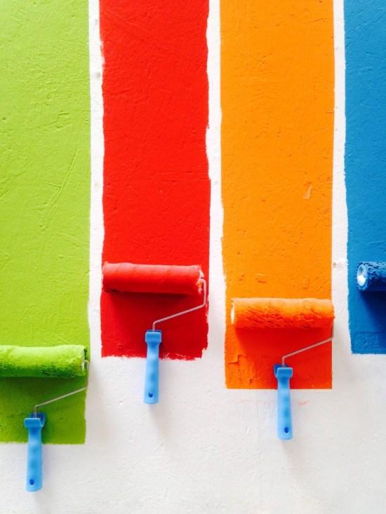 wall paint renovation
