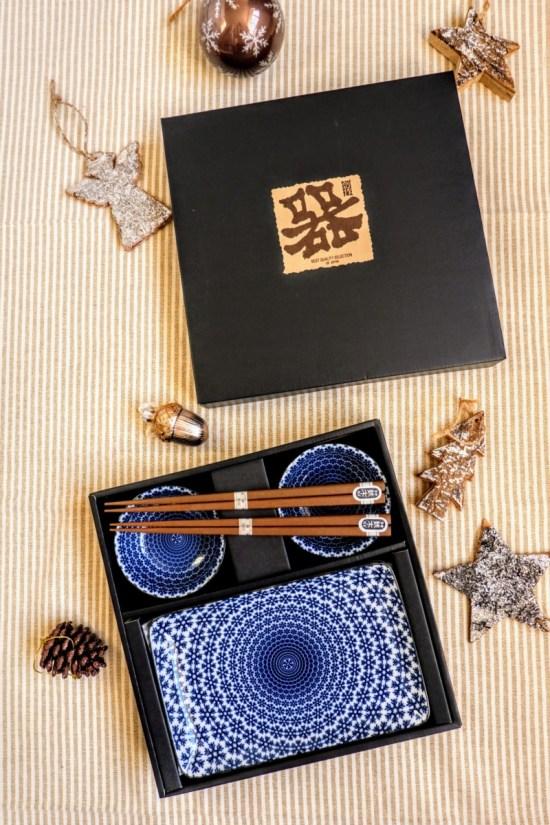 sushi serving gift set