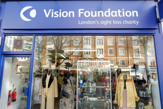 Vision Foundation Charity Shop