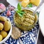 5-Minute Vegan Nut-Free Pesto Recipe