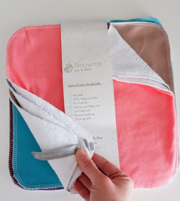reusable wash cloth: ethical and green