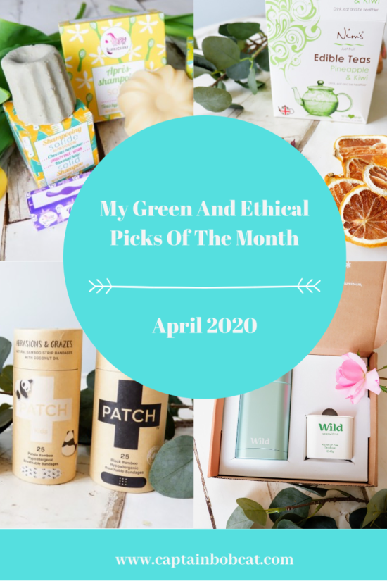 My Ethical And Green Picks Of The Month: April 2020