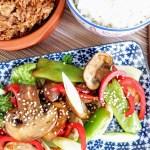 simple oriental stir fry