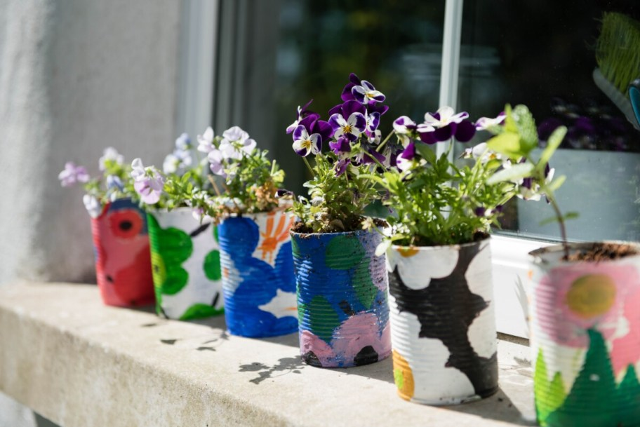 upcycled cans: upcycle day
