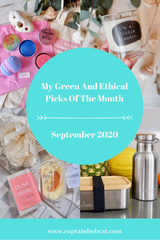 My Ethical And Green Picks Of The Month: September 2020