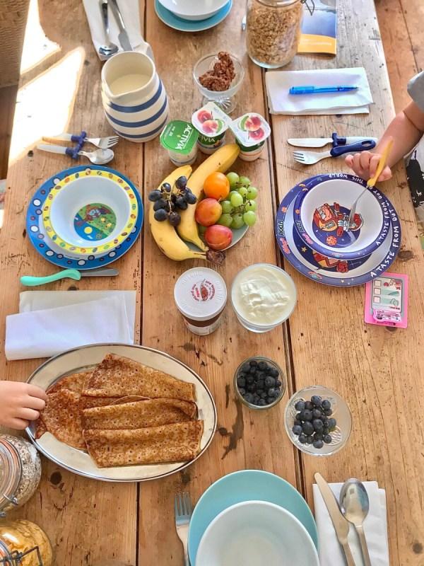 Broadstairs House breakfast